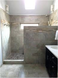 showers half wall shower glass shower with half wall half wall shower ideas extraordinary beautiful