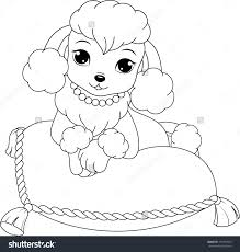 Small Picture Poodle Coloring Pages jacbme