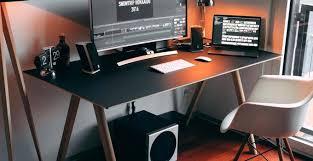 stylish office desk setup. Gaming Office Desk Beautiful Modern Desktop With Regard To Decorations 11 Stylish Setup L