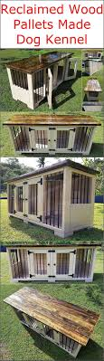 Reclaimed Wood Pallets Made Dog Kennel