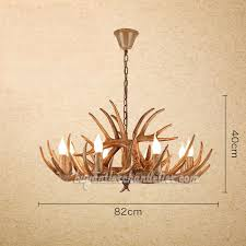 antique 8 mule deer antler chandelier cascade candelabra eight ceiling lights rustic style lighting fixtures