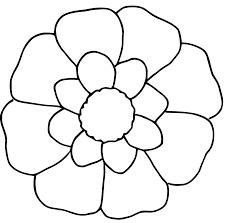 Coloriage Fleur 1 Imprimer Et Colorier Chez Toi