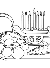 December Holiday Kwanzaa Coloring Pages Family Holiday Net Guide