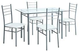 dining table and 4 chairs set cameo black glass dining table set and with 4 chairs