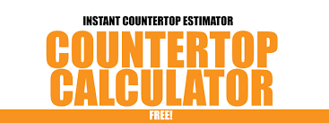 free countertop calculator