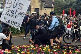 Check spelling or type a new query. Anti Lockdown Protest Hundreds Flock Sydney Streets To Protest The City S Covid 19 Stay At Home Orders 7news