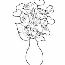 Small Picture Lily Flower Bouquet in Vase Coloring Page Color Luna