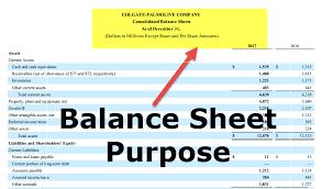 Ratios In Balance Sheet Purpose Of Balance Sheet Top Uses Examples Ratio Analysis