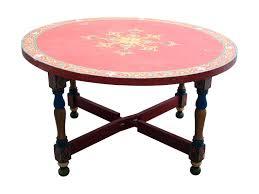 rustic moroccan coffee table