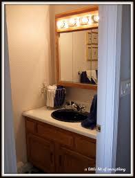 fancy half bathrooms. Fancy Bulb Lights Mirrored Vanities Bath With Single Black Sink In Small Half Ideas Bathrooms