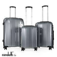 Light Luggage Sets Condotti Lite 3 Piece Lightweight Luggage Set 1 Made