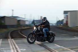 2016 iron 883 first ride