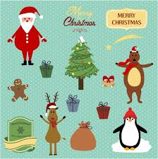 cute penguin christmas backgrounds. Delighful Christmas Cute Christmas Background With Santa Reindeer Bear And Penguin To Penguin Christmas Backgrounds