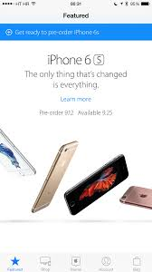 iphone 6 price apple store. preorder iphone 6s apple store app screenshot 001 iphone 6 price