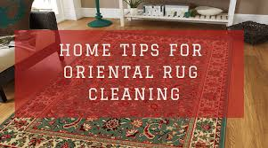 steps for oriental rug cleaning at home