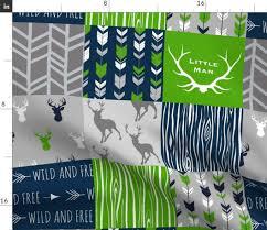 Sugar Pine Design Fabric Amazon Com Spoonflower Little Man Fabric Nursery Little