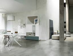 Small Picture Living Room Living Room Contemporary Concrete Wall Open Space
