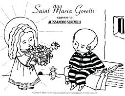 Francis Of Assisi Coloring Page Dr Schulz