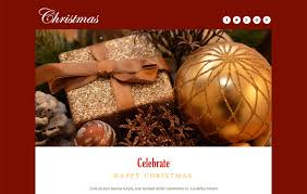 Free Christmas Website Templates Christmas A Newsletter Responsive Web Template W3layouts Com