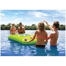 Inflatable Table Airheadar Pongo Bongo Inflatable Beer Pong Table 296415 Floats