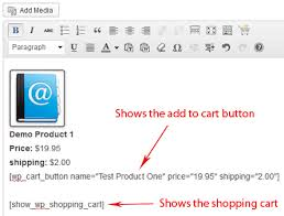Wordpress Shopping Cart Installation And Usage Instructions Tips