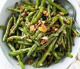 back to basics roasted green beans