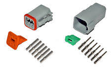 6 pin connector deutsch dt 6 pin connector kit 16 20 ga solid contacts