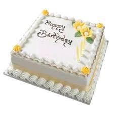 Vanilla Birthday Cakes Edesia The Traditional Backers