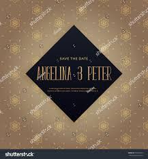 Free Invitation Background Designs Elegant Premium Wedding Invitation Background Design Stock Vector