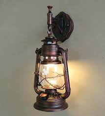 antique wall lights fashion wrought iron vintage lantern kerosene lamp classical lamps free oil for antique wall