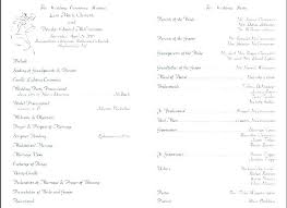 Wedding Booklet Template Ceremony Program Template Catholic Wedding Booklet Script