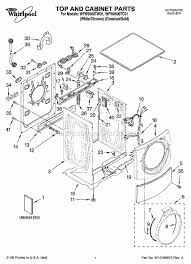 whirlpool wfw9500tw01 parts list and diagram ereplacementparts com Whirlpool Dryer Wiring Diagram Wiring Diagram For Whirlpool Washer #38