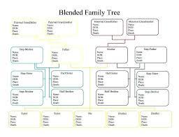 Family Tree Chart Pdf Free Family Tree Form Jasonkellyphoto Co