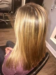 Blonde Highlighted Balayage Long Hair With