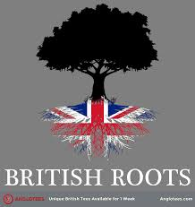 British Roots A Design Dedicated To Those Of Us With Roots In Britain