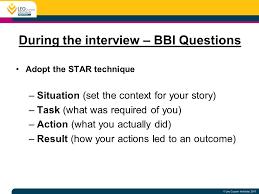 Star Interview Techniques Interview Techniques Star Military Bralicious Co