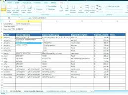 Monthly And Yearly Budget Template Daily Monthly Yearly Budget Spreadsheet Daily Budget