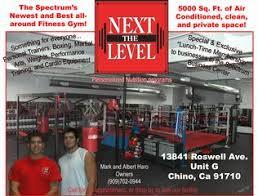 the next level gym chino ca