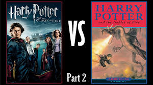 book differences review harry potter and the goblet of fire part 2 you