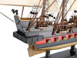 wooden john gow s revenge white sails limited model pirate ship 26