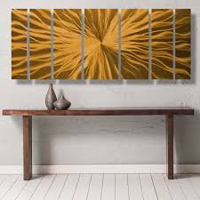 modern contemporary abstract metal wall