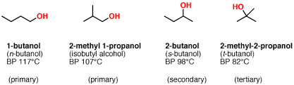Alcohols 1 Nomenclature And Properties Master Organic Chemistry