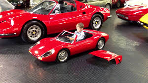 Porsche Carrera Gts Electric Kid Car Test Drive Youtube