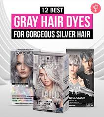 gray hair dyes for gorgeous silver hair