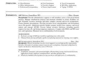 full size of desk the professional receptionist resume sample example skills and qualifications cal cover