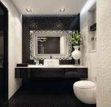 Black And White Bathroom Small Bathroom Black And White Small Bathrooms Small Bathroom
