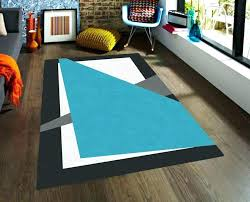 black modern rug geometric area rugs blue white and modena country