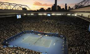 australian open roof travels with soha places fans in australian open action tennis