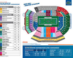 Ben Hill Griffin Stadium Seating Chart Visitors Section The Stylish And Also Lovely Ben Hill Griffin Stadium Seating