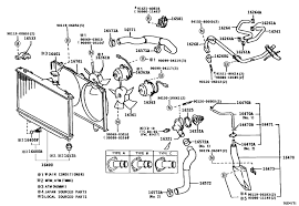2000 toyota corolla exhaust system diagram inspirational beautiful parts a radiator diagram position electrical